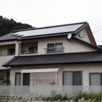 太陽光発電(一般家庭向け)の施工実績「臼杵市K様邸/発電量:3.7kw/メーカー:ソーラーフロンティア」