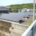 太陽光発電(野立て収益向け)の施工実績「国東市T様邸/発電量25.0kw/メーカー:三菱」